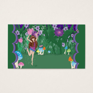 Jen the Dancing Flower Fairy Business Card