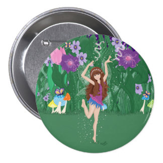 Jen the Dancing Flower Fairy Pins