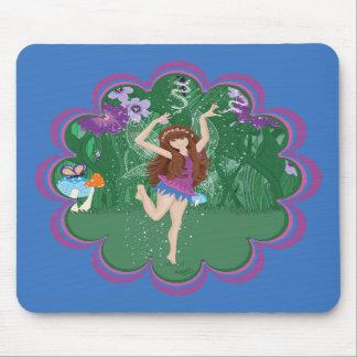 Jen the Dancing Flower Fairy Mousepads