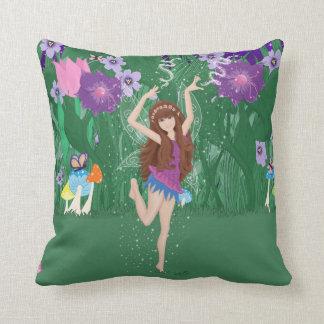 Jen the Dancing Flower Fairy Pillow