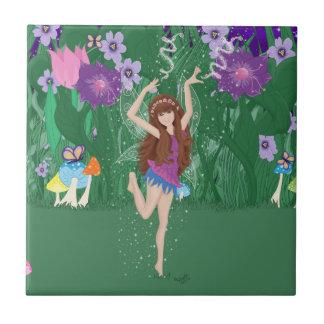 Jen the Dancing Flower Fairy Tile