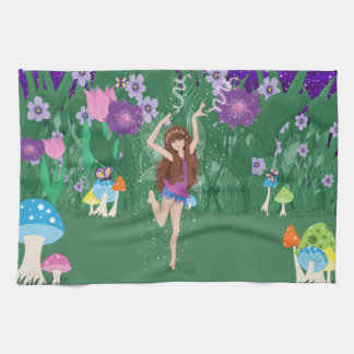 Jen the Dancing Flower Fairy Towels