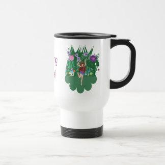 Jen the Dancing Flower Fairy Travel Mug