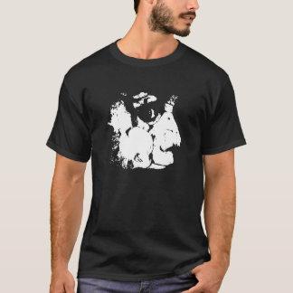 Jen with Skulls T-Shirt