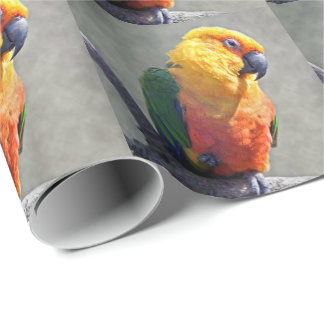 Jenday Conure Wrapping Paper