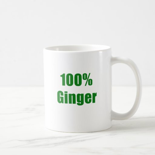 Jengibre 100% taza de café