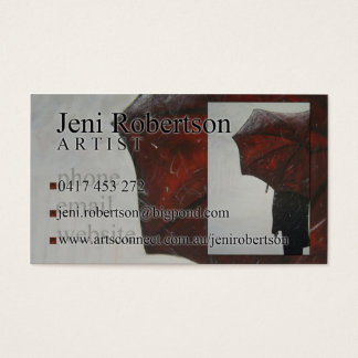 Jeni Robertson Business Card