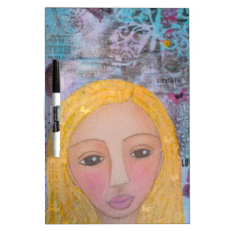 Jenica's Girl.jpg Dry-Erase Board