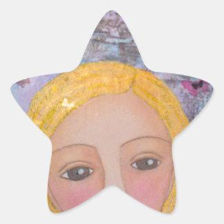 Jenica's Girl.jpg Star Sticker