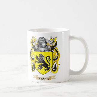 Jenkins Coat of Arms (Family Crest) Coffee Mugs