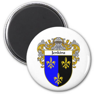 Jenkins Coat of Arms (Mantled) Magnet