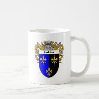 Jenkins Coat of Arms (Mantled) Coffee Mug