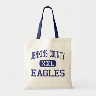 Jenkins County - Eagles - High - Millen Georgia Budget Tote Bag