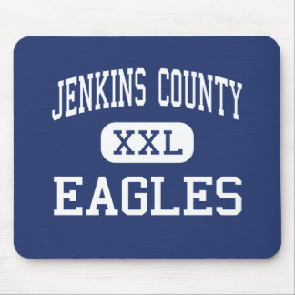 Jenkins County - Eagles - High - Millen Georgia Mouse Pad