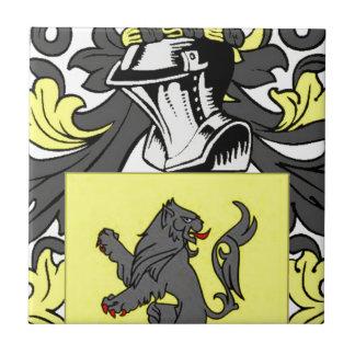 Jenkins (English) Coat of Arms Ceramic Tile