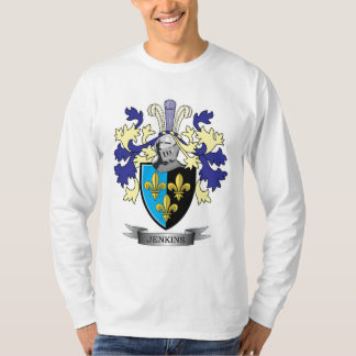 Jenkins Family Crest Coat of Arms T-Shirt