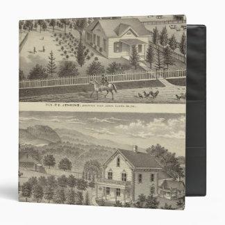 Jenkins, Snyder residences Binder