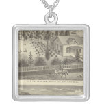 Jenkins, Snyder residences Square Pendant Necklace