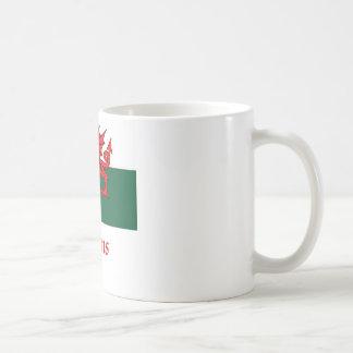 Jenkins Welsh Flag Coffee Mug