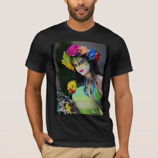 Jenn Martin (body painting spring) Mens Shirt