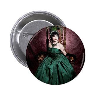 Jenn Martin (Royal Green) Button