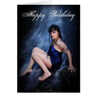 Jenn Martin (waterfall) Birthday Card