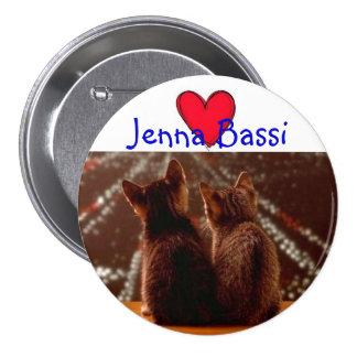 Jenna Bassi Pinback Button