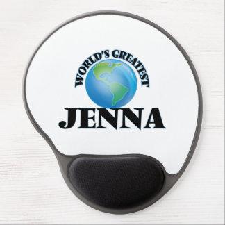 Jenna más grande del mundo alfombrilla de ratón con gel