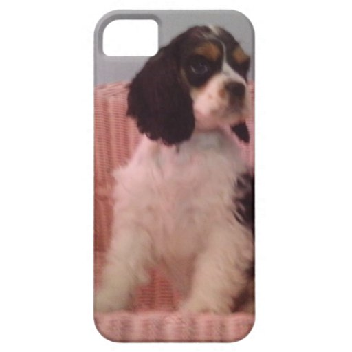 Jenna, Tri american cocker spaniel puppy iPhone 5 Cover