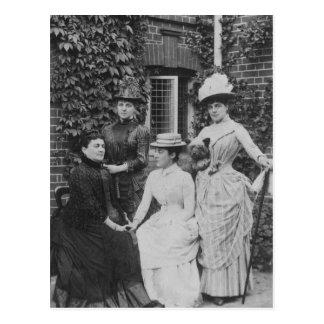 Jennie Jerome, later Lady Randolph Churchill Postcard
