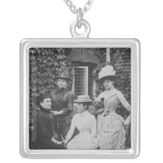 Jennie Jerome, later Lady Randolph Churchill Silver Plated Necklace