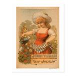 "Jennie Yeamans ""Our Jennie"" Theatre Poster Postcard"