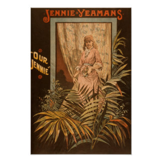 Jennie Yeamans poster del juego de nuestro Jennie