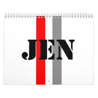 Jennifer Calendar