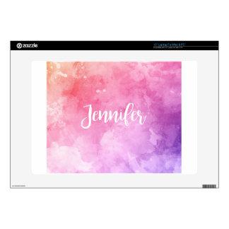 "Jennifer Name Decals For 15"" Laptops"