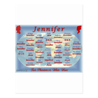 Jennifer Postcards