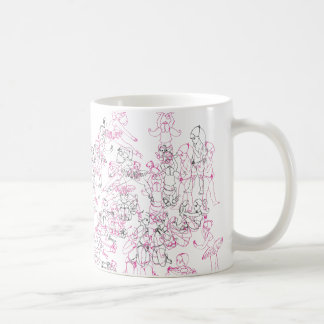 Jennifer Schauder Smith 'Girls' Mug