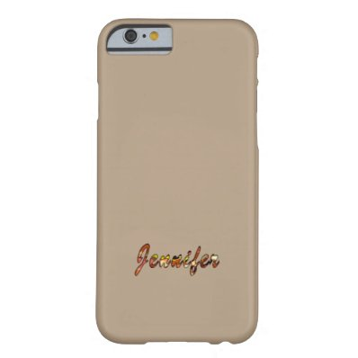 Jennifer Stylish Brown iPhone cover