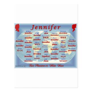 Jennifer Tarjetas Postales