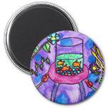 Jennifer Voogd 2 Inch Round Magnet