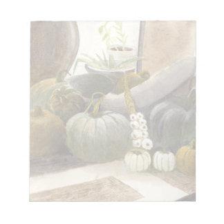 Jennifer's Pumpkins Notepad