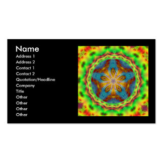 Jenniflower #11 Double-Sided standard business cards (Pack of 100)