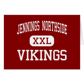 Jennings Northside - Vikingos - joven - Jennings Tarjeta De Felicitación