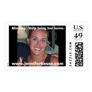Jennkesse, faltando - la ayuda trae su hogar., sello