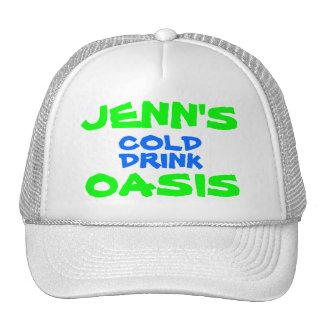 JENN'S COLD DRINK OASIS TRUCKER HAT