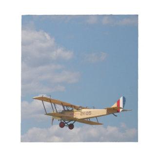 Jenny Biplane Notepad
