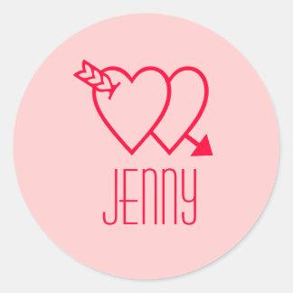 Jenny Classic Round Sticker