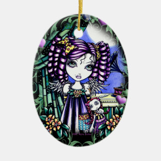 """Jenny"" Cute Ragdoll Angel Ornament"