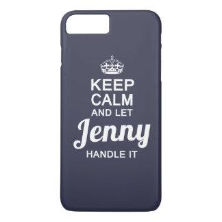 Jenny handle it! iPhone 7 plus case