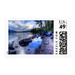 Jenny in Morning Postage Stamps